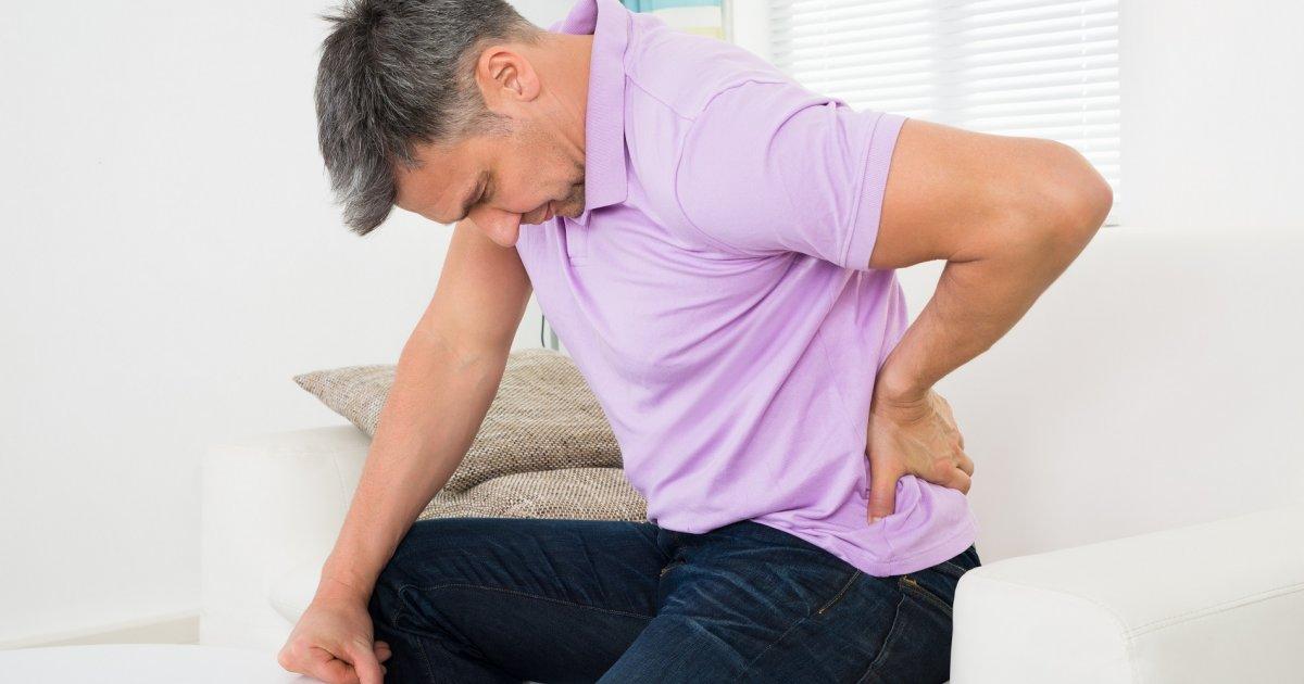 súlycsökkenés és krónikus hátfájás